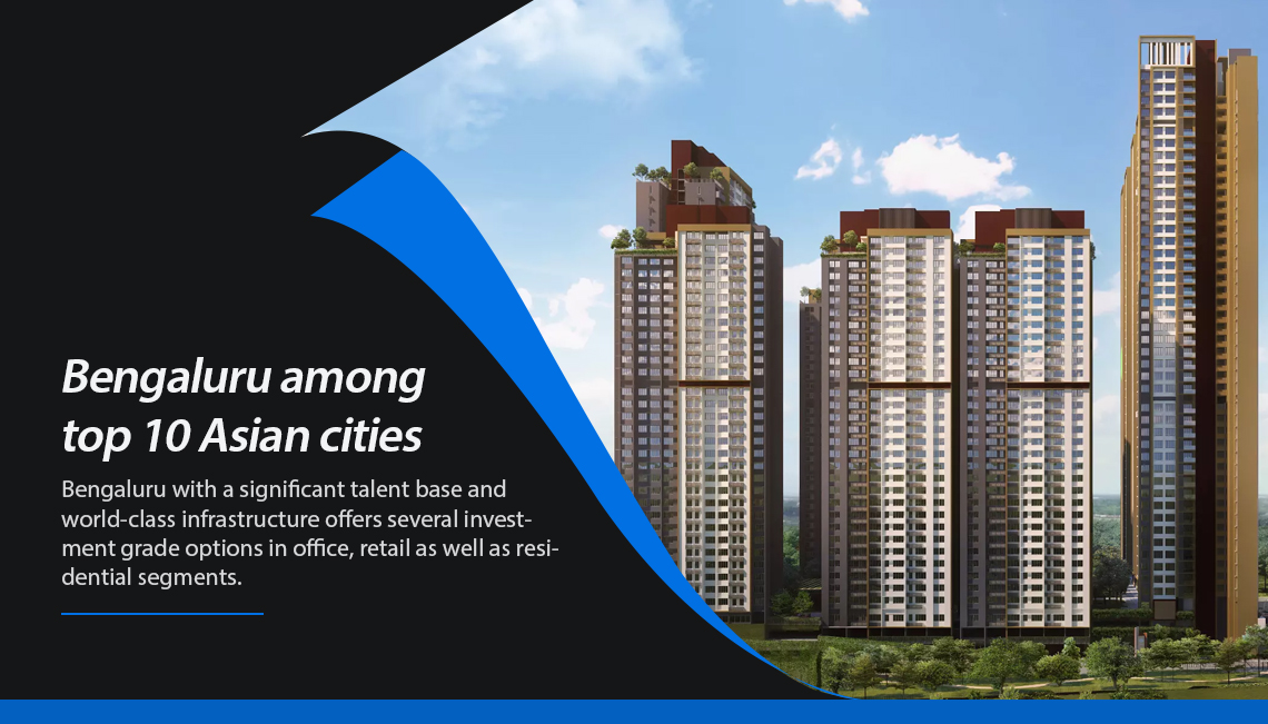 Bengaluru in top 10 Asian cities for real estate investments