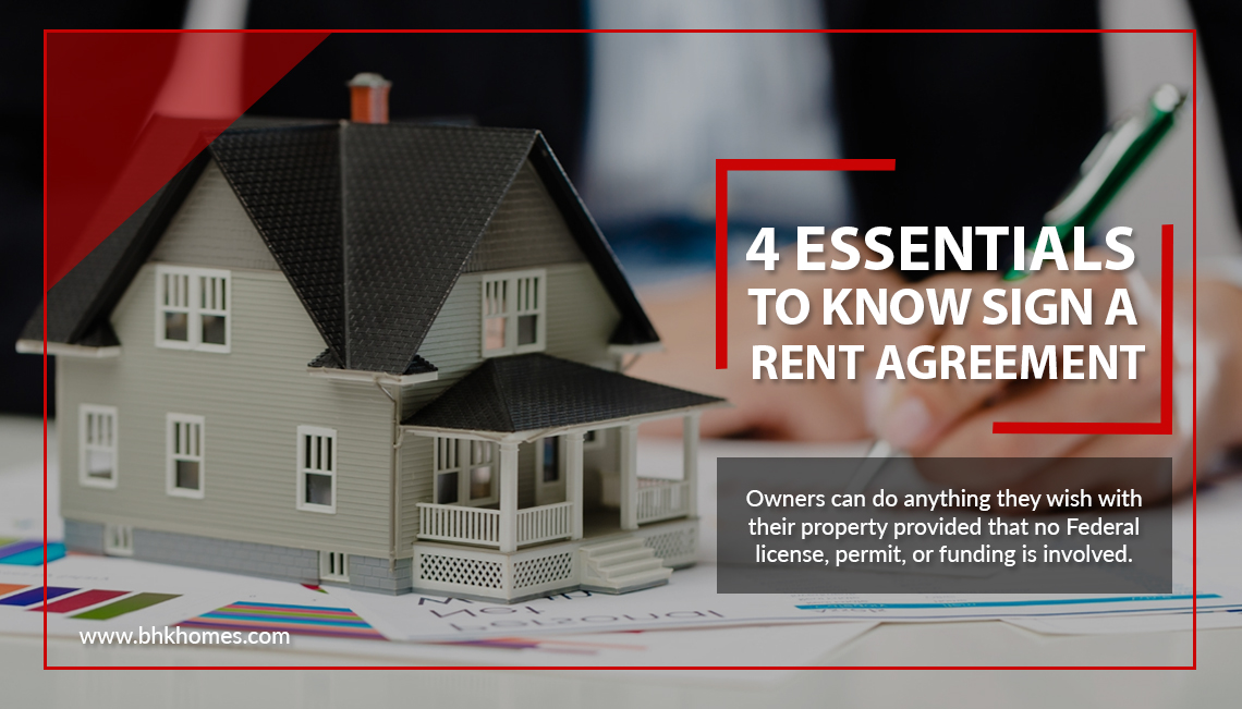 4 Essentials to know before you sign a rent agreement