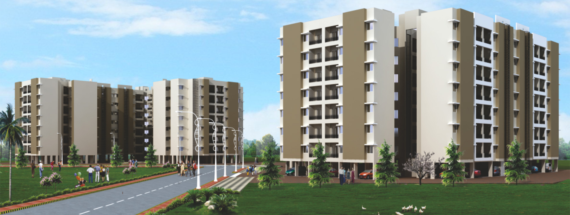 2,3 BHK Apartment in Daffodil Highs - The Empyrean Nagpur