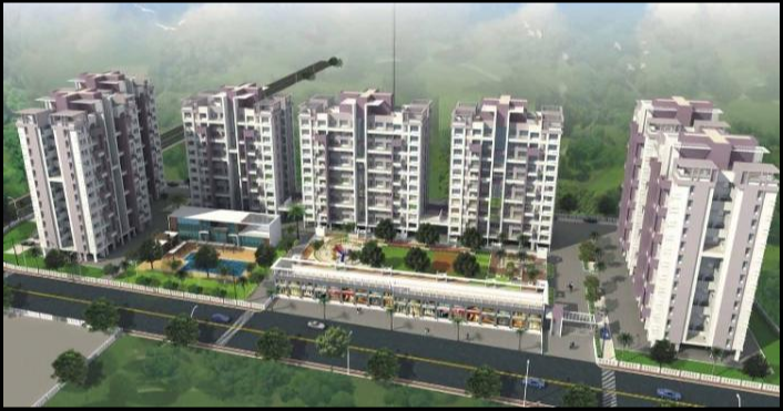 2 BHK 1044 Sq. ft Apartment for Sale in Wakad, Pune