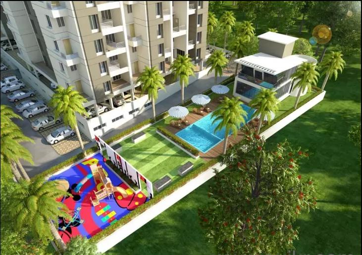 2 BHK 959 Sq. ft Apartment for Sale in Undri, Pune